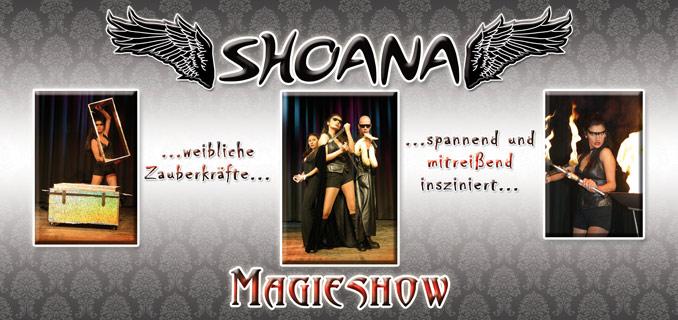 Shoana Magie Show mit Assistenten