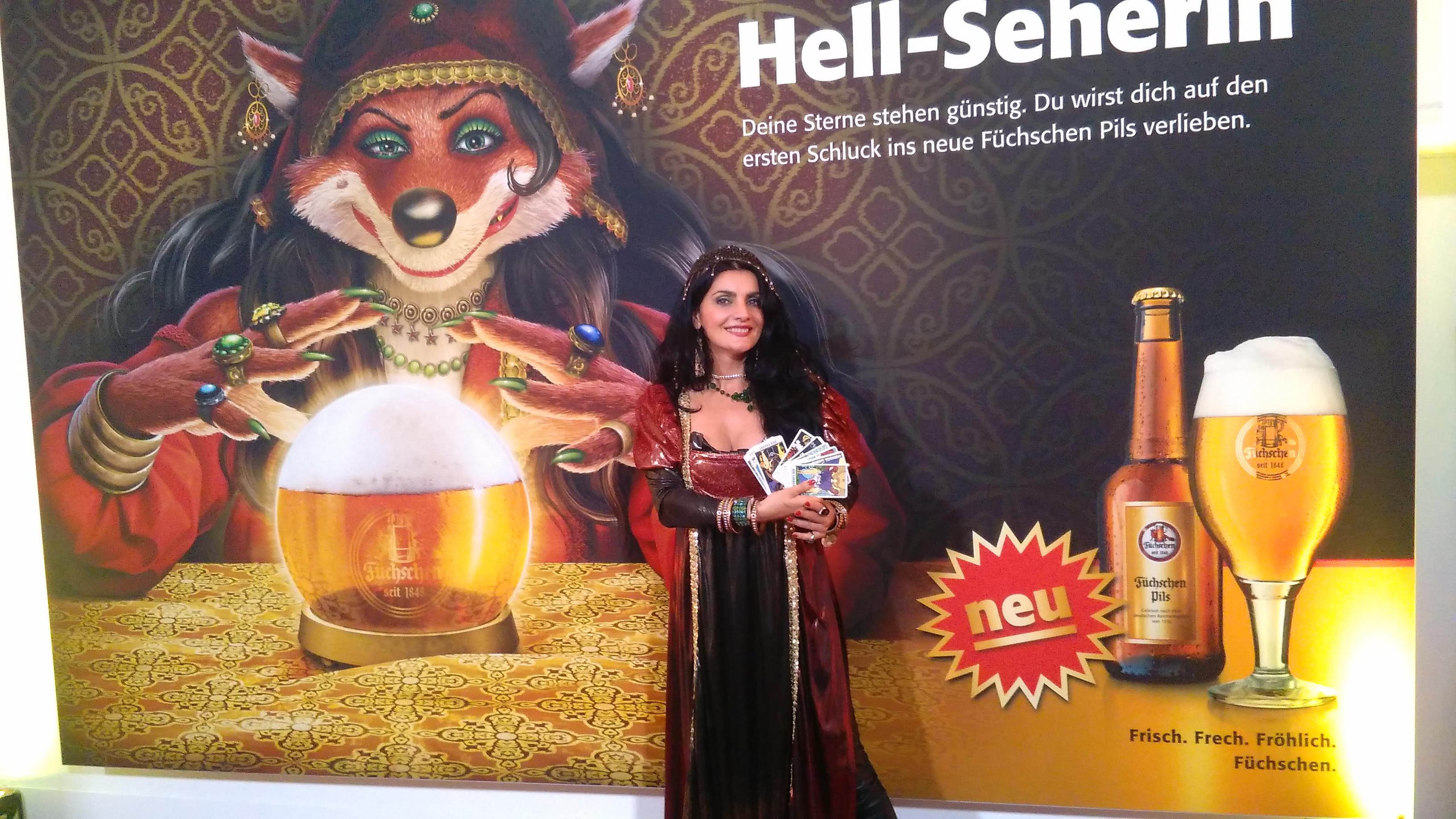 2017 Hellseherin für Brauerei Füchschen